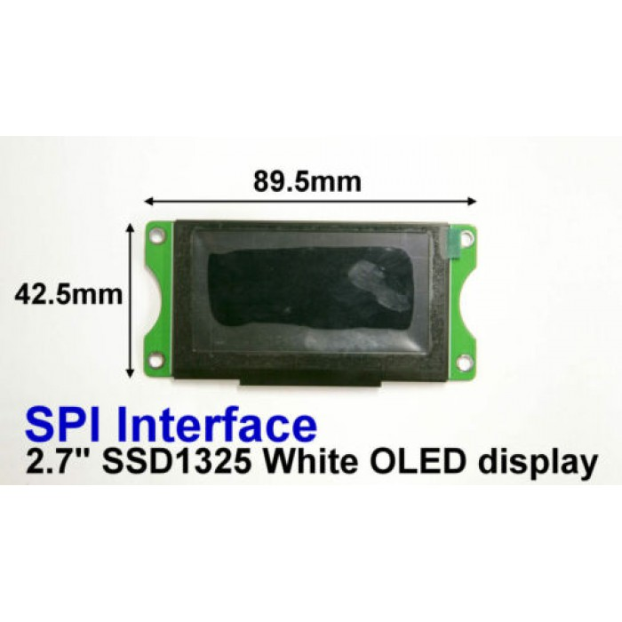 SPI 2.7 OLED 128x64 SSD1325 Graphic