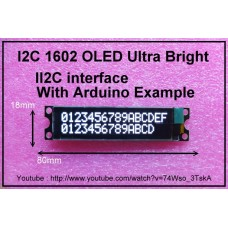 I2C 1602 OLED display module