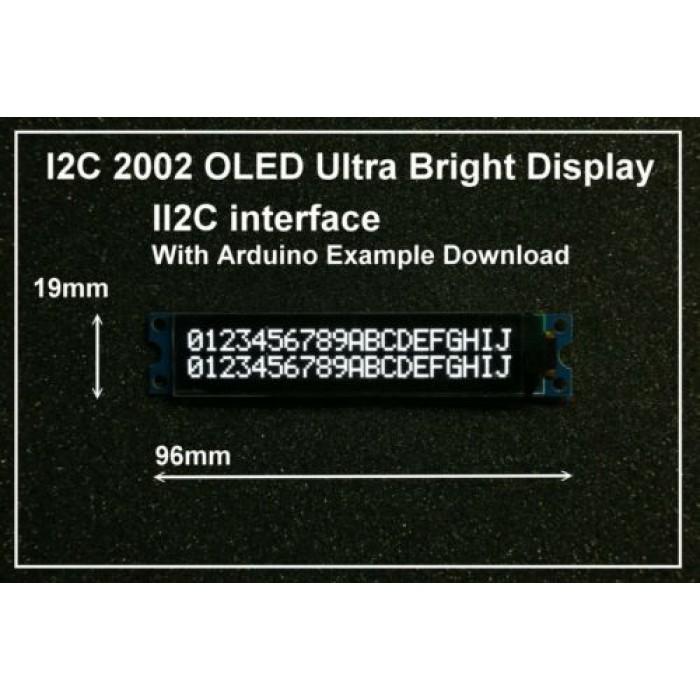 IIC / I2C 2002 20x02 OLED Module Display