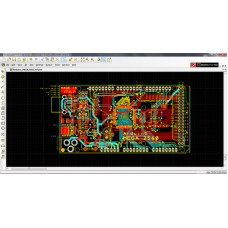 Printed circuit board  ( Make from your PCB files for 10pcs )