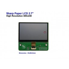 "SPI 2.4"" ePaper Sharp Memory LCD Modules"