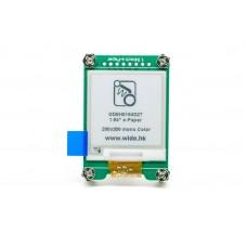 "SPI e-Paper 1.54"" 200x200 Mono Display GDEH0154D27"